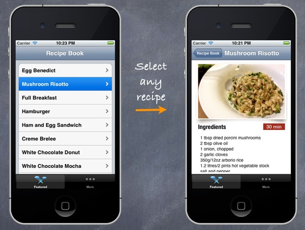 Improve the Recipe App With a Better Detail View Controller