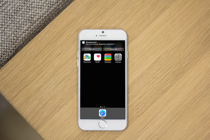 Creating Interactive Local Notifications in iOS 8