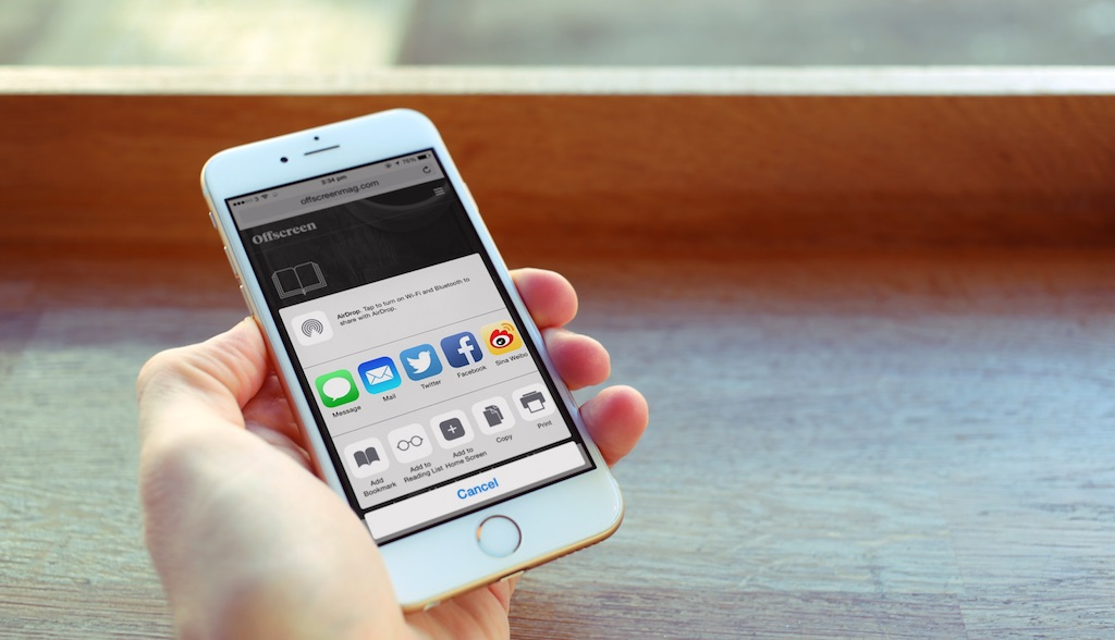 Building Action Extensions in iOS 8